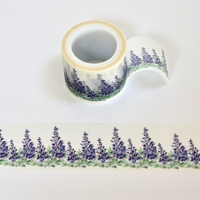 Purple Flower Washi Tape