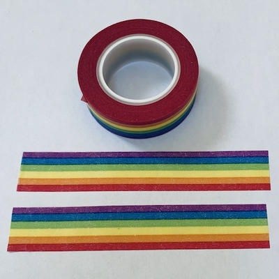 Rainbow Pride Washi Tape