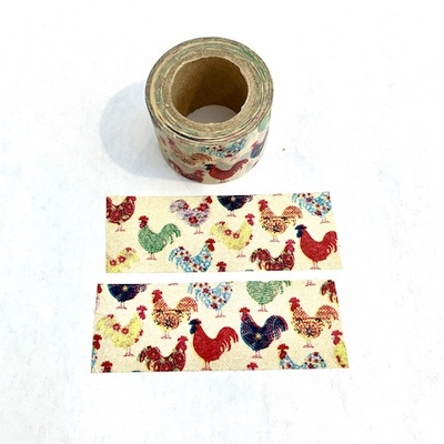 Rooster Washi Tape