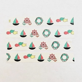 * Sailboat Washi Tape