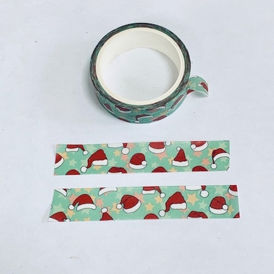 Santa hat Washi Tape
