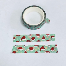 * Santa hat Washi Tape