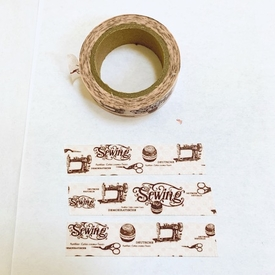 Sewing Washi Tape
