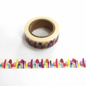 Silverware Washi Tape