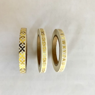 Skinny Gold Washi Tape