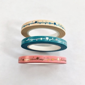 Skinny Star Washi Tape