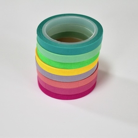 Skinny Washi Tape - Rolls Of 8
