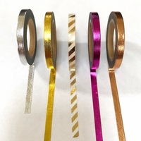 * Skinny Washi Tape - Single Colors