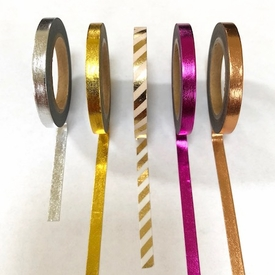 Skinny Washi Tape - Single Colors