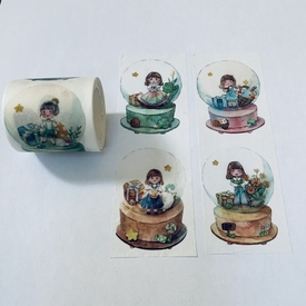 Snow Globe Washi Tape