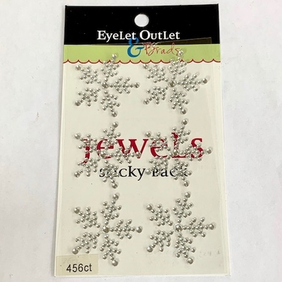 Snowflake Bling - 1 1/2 inch