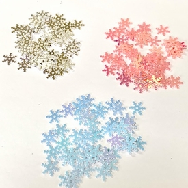* Snowflake Sequins - Set of 3