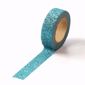 Sparkle Blue Glitter Washi Tape