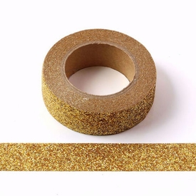 * Sparkle Gold Glitter Washi Tape
