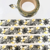 * Spider Web Washi Tape