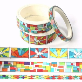 Stained Glass Washi Tape - Set of 3