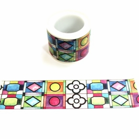 Stained Glass Washi Tape - Wide
