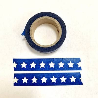 Star Blue Washi Tape