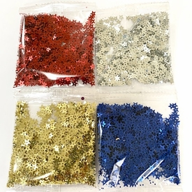* Star Sequins - Set of 4 Colors