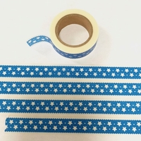 * Star Washi Tape - Blue