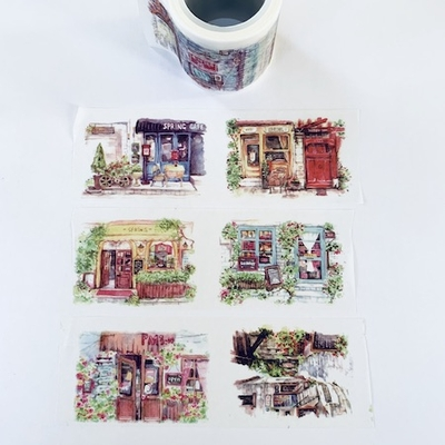 Storefront Watercolor Washi Tape