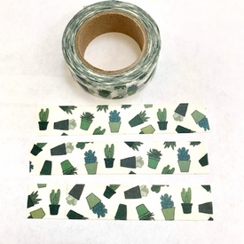 * Succulent Washi Tape