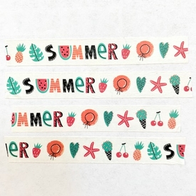 * Summer Washi Tape