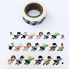 Super Hero Washi Tape