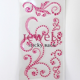 Swirl Bling - Jewel Pink