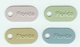 Tags - Florida - Colored