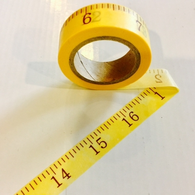 Tape Measure Washi Tape - out of stock