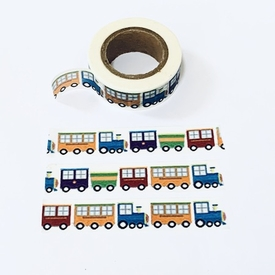 Train Washi Tape