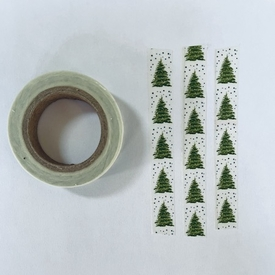 Tree Washi Tape - Skinny