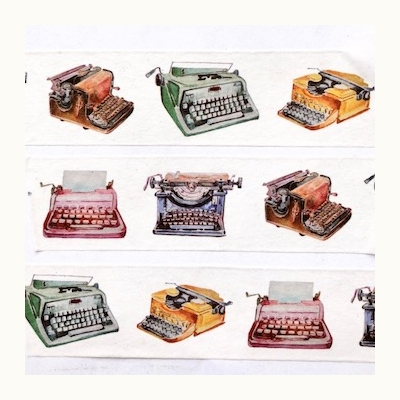 Typewriter Washi Tape