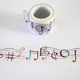 Wide Music Washi Tape