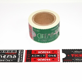 Wide Ticket Washi Tape