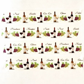 *Wine Washi Tape