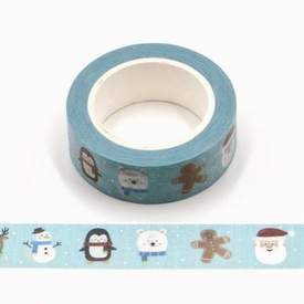 * Winter Characters Washi Tape