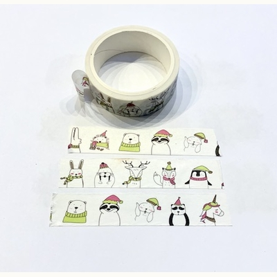 Winter Critter Washi Tape