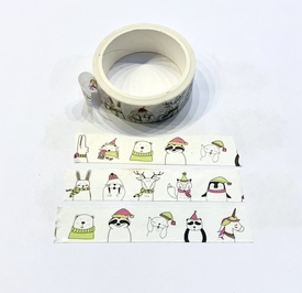 * Winter Critter Washi Tape