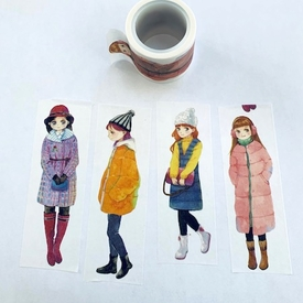 * Winter Girl Washi Tape