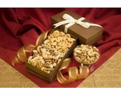 Cashew & Mixed Nuts Gift Box Duo - Salted