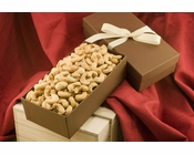 Giant Whole Cashews Gift Box - Salted