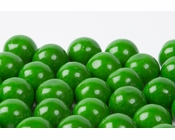 Green Gourmet Gumballs (1 Pound Bag)