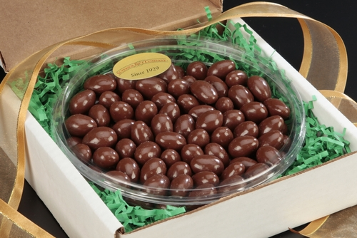 Milk Chocolate Covered Almonds Gourmet Tray