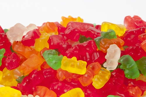 Original Haribo Gold Gummy Bears (1 Pound Bag)