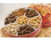 Sugar-Free Executive Assortment of Nuts Gift Tin