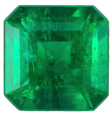 Great Deal on Green Emerald Genuine Stone, 0.48 carats, Emerald Cut, 4.9 mm , Gemmy Low Cost Stone