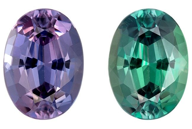 Heirloom Color Change Alexandrite Gemstone, 0.54 carats, Oval Cut, 5.7 x 4.1 mm, Low Low Price