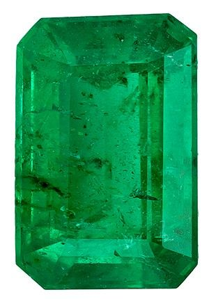Quality Emerald Gemstone, 0.58 carats, Emerald Cut, 6 x 4 mm, Must See This Gem